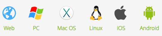 Software 100% compatible with Windows, MAC OS, Linux, iOS & Android