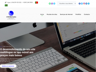 O desenvolvimento do seu site multilíngue  ou app móvil aos preços mais baixos