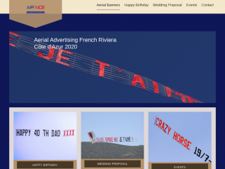 Aerial advertising France , French Riviera , Banners and billboards for events in Cannes Monaco Saint-Tropez