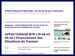 AFFACTURAGE BTP | 01 46 43 05 40 | Financement des Situations ...