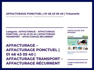 AFFACTURAGE – AFFACTURAGE PONCTUEL | 01 46 43 05 40 ...
