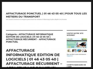 AFFACTURAGE INFORMATIQUE EDITION DE LOGICIELS | 01 46 43 ...