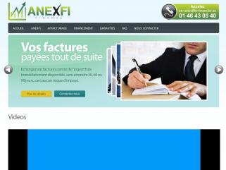 Anexfi - Finance |Affacturage, Escompte, Dailly, Factoring