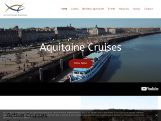 Official website Aquitaine Cruises with MS Bordeaux and The Mirabelle