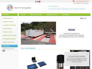 AS technologies : capteurs, codeurs, caméras, convertisseurs, indicateurs, pyromètres, instrumentation et mesure industrielle