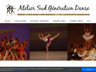 Cours de danse ASGD Marseille , contemporain, hip hop, classique, jazz...
