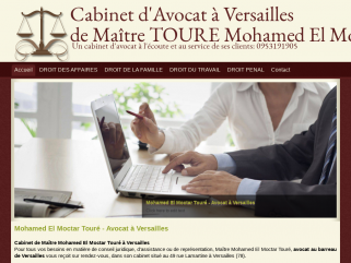 Cabinet d'Avocat à Versailles de Maître TOURE Mohamed El Moctar