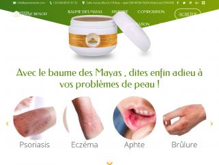 Baume des mayas, problème de peau, psoriasis, eczéma, tepezcohuite : Produit Janine Benoit
