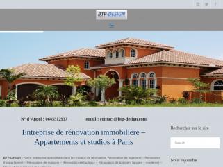 Société de rénovation appartement , maison, bureau et studio à Paris