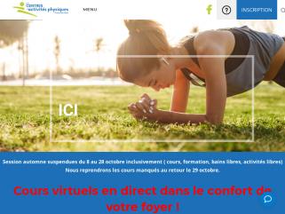 CAPRDN - Les centres d'activités physiques Rivière-du-Nord. Je bouge, je vis!