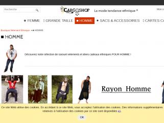 HOMME mode ethnique sarouel pantalon sac
