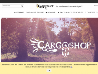 CARGO SHOP Boutique Vetement Ethnique - Femme Homme