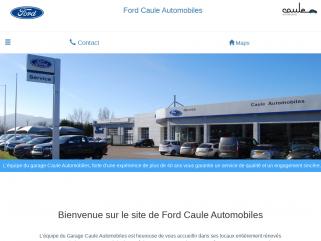 Garage Caule Automobiles Ford Davézieux-Annonay. Véhicules neufs et occasions.Réparations toutes marques. 0475332298