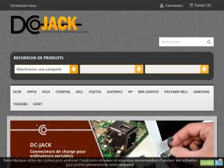 Dcjack connecteurs pour ordinateurs portables