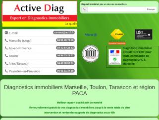 Diagnostics immobiliers Marseille, Toulon, Tarascon et région PACA