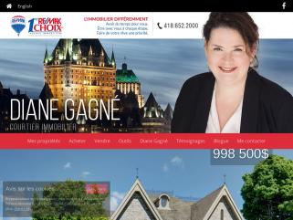 Diane Gagné courtier immobilier