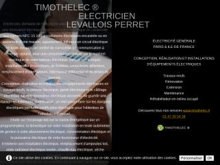 TIMOTHELEC ® ÉLECTRICITÉ GÉNÉRALE PARIS & ILE-DE-FRANCE