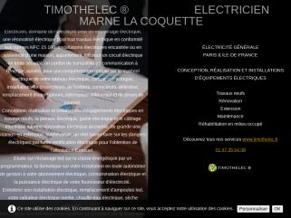 Electricité générale-electricien-électricité