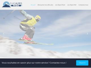 Transport de personnes dans les alpes hiver/été