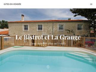 Gite en Vendée La Grange et location gite de Vendée Le Bistrot