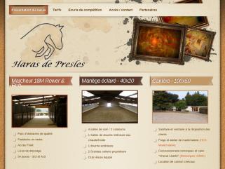 Haras de Presles, écurie de compétiton, Ile de France, Val d'oise 95, pensions L'Isle Adam Presles