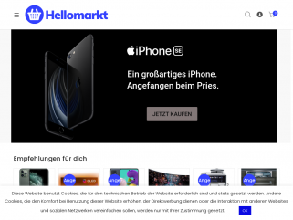 Hellomarkt : High Tech, billige Möbel & Geräte
