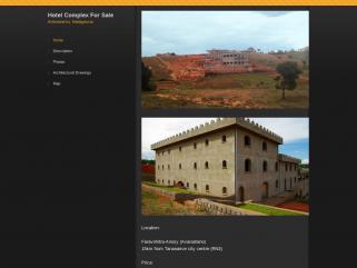 Complexe hotelier à vendre à Madagascar