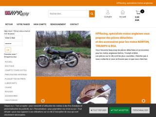 Vente de pieces motos anglaises anciennes