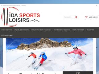 Vente skis et chaussures d'occasions, homme, femme, enfant