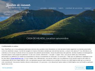 Location saisonnière à la semaine dans la vallée du Biros, au cœur des Pyrénées centrales, en Ariège. Le Couserans, ses piémonts et ses montagnes vous raviront par leurs beautés.