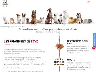 Friandises de Toyz : Friandises pur chiens et chats 100 % Naturelles Faites maison.