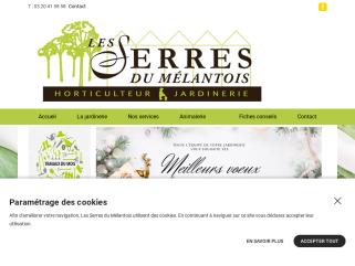 Jardinerie horticulteur les serres du melantois à Lille