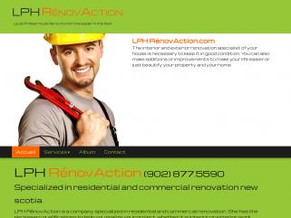 Interior and exterior renovation Nova Scotia - LPH RénovAction