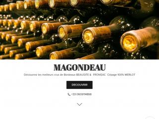 Château Magondeau - Grand vin bordeaux