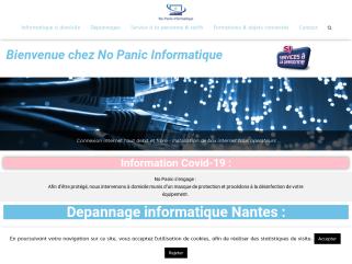 Dépannage informatique internet et multimédia à domicile sur Nantes