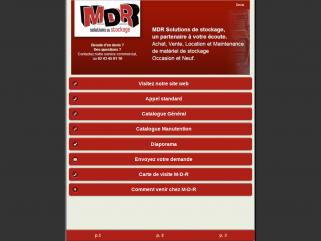 Site mobile M-D-R.com