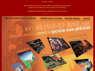 Concerts et spectacles musicaux, concepts de journées de fête , tournées et plateaux d'artistes, spectacles son et lumières, fontaines musicales.