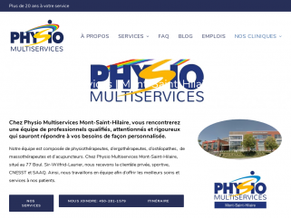 Physio Multiservices Mont St-Hilaire