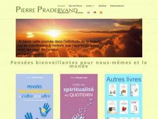 Pierre Pradervand's Blessings site