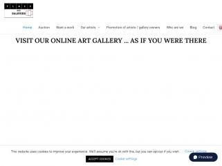 Place des galeries pour profiter d'incroyables œuvres d'art