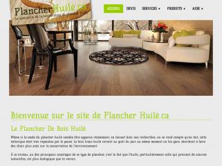 Plancher huilé - PlancherHuilé.ca