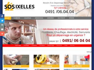 0491 / 06 04 04 - Services dépannage général bruxelles (ixelles)