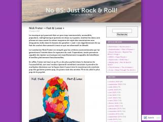 No BS: Just Rock