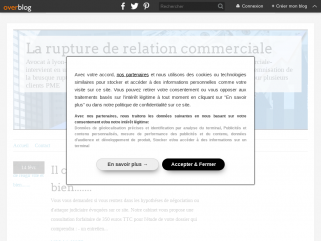 RUPTURE DE RELATION COMMERCIALE VALERIE PLOUTON AVOCAT