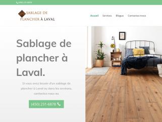 Sablage de plancher à Laval   Les experts du sablage de plancher sans poussière