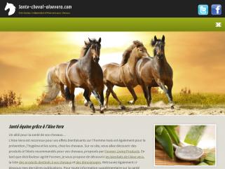 Sante cheval aloevera