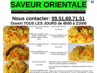 Couscous Arcachon, La Teste-de-Buch, Gujan-Mestras, Le Teich, Cazaux, Pyla sur Mer.