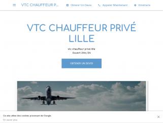 Un chauffeur privé VTC à Lille à votre entière disposition 24h/24 et 7/7 véhicules récents avec climatisation, chargeurs téléphone, bouteilles d'eau, friandises,
