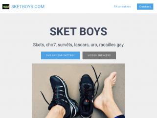 Blogay PAGAY sneakers et sketboy DOMIADDICT plan uro et skets entre mec et bogoss
