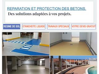 Une gamme de produits pour la réparation et la protection des sols en résine et des mortierspour la protection des bétons.Polyuréthane, Méthacrylate, monile, vandex,